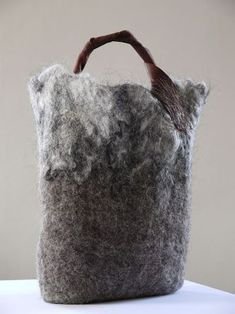 Image result for contemporary felted vessels with branches