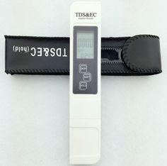 2016 Medidor de TDS y EC Tester de Temperatura y 3 In1 Función de Medición de la Calidad del Agua TDS y EC Conductividad Probador 0-9000ppm