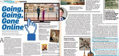Industry Coverage featuring Bid & Hammer's director Ankush Dadha in The Economic Times - 6th September 2020 Economic Times, Art World, Contemporary Artists, Blues, Art Gallery, September, Auction, Digital, News