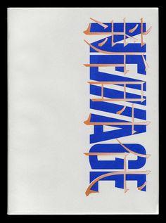 David Rudnick Graphic Design achtkant.tumblr.com