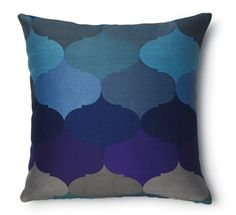 Moor cushion Cobalt, also available in Slate Multi Grey Cushions, Scatter Cushions, Throw Pillows, Beating The Blues, Family Room, Home And Family, Queen, Sweet Home, Cobalt