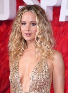 Jennifer Lawrence Just Made a Rare Appearance With Curly Hair
