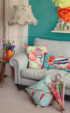 cushion styling for Van Asch
