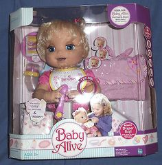 Baby Alive Feeding And Changing Video With Peas Doll Food