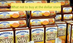 Great post about what to buy and what to pass on at the Dollar Store
