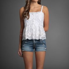 Lacey tank Hollister