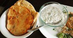 Naanleipä, Tsatsiki, Tzazikiresepti, Resepti, Kreikkalainen, Jugurttikastike
