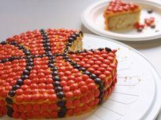 Baseball, Football Birthday Cakes  Basketball