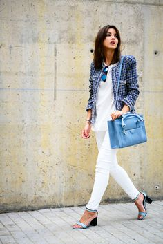 around the office in blue - Lovely Pepa by Alexandra