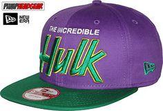 New Era 9Fifty 9Fifty Reverse Hero Word Hulk Snapback Cap