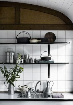 tiles + shelves | Vosgesparis...