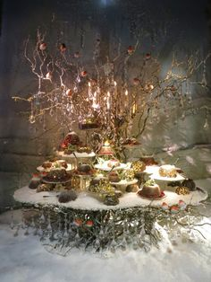 Find tips and tricks, amazing ideas for Store window displays. Discover and try out new things about Store window displays site Christmas Window Display, Christmas Store, Noel Christmas, Rustic Christmas, Christmas Decorations, Holiday Decor, Christmas Shop Displays, Christmas Windows, Deco Table Noel