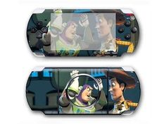 Toy Story PSP 3000 cover for the PSP 3000 console. Choose your favorite design from a huge range of PSP 3000 covers collection for PSP 3000 console. Xbox One Skin, Console Styling, Ps4 Skins, Psp, Toy Story, Games To Play, Lunch Box, Toys, Decal