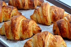 Those Fabulous, Decadent French Pastries - Useful Articles French Croissant, Croissant Dough, Croissant Recipe, Irish Recipes, Greek Recipes, Dough Ingredients, French Pastries, Pretzel Bites, Fett