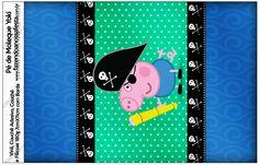 Pé de Moleque Yoki George Pig Pirata: