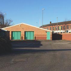 #armley #Leeds #Yorkshire #industrialestate #door #shadow #empty