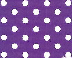 Lots-A-Dots - Big Retro Dot - Purple