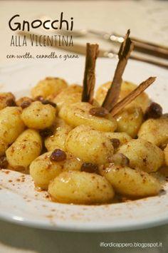 Gnocchi alla vicentina Burritos, Gnocchi, Pasta, Street Food, Potato Salad, Buffet, Dinner Recipes, Healthy Eating, Potatoes