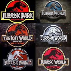 All films of the Jurassic Franchise from 1993 to Jurassic World: Dominion logo made by Jurassic Park Funny, Jurassic Park Poster, Jurassic World Movie, Blue Jurassic World, Jurassic World Fallen Kingdom, Jurassic World Wallpaper, Jurrassic Park, The Lost World, Falling Kingdoms