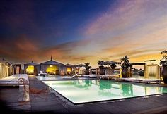 SLS Hotel at Beverly Hills Pool (Near Los Angeles County Museum of Art) Avg.USD$289.00