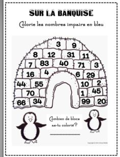Even and Odd Numbers- Great primary math worksheet. Follow
