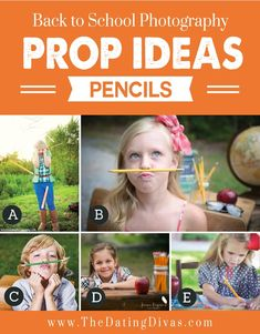 Pencils for Back to School Props
