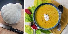 Blue Hubbard Squash Soup
