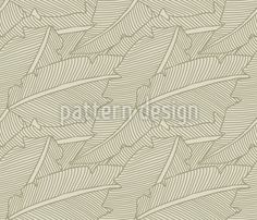 Gentle Foliage by Michael Popov Studios available for download on patterndesigns.com Vector Pattern, Pattern Design, Plant Vector, Surface Design, Monochrome, Studios, Patterns, Inspiration, Art