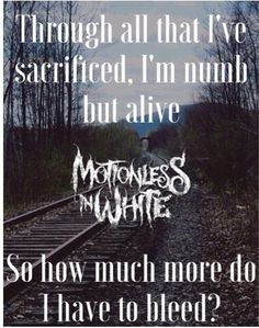 Unstoppable- Motionless in White