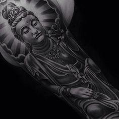60 inspirierende Buddha Tattoo Ideen - Tattoo Motive - 60 inspirierende Buddha Tattoo Ideen You are in the right place about 60 inspirierende Buddha Tattoo - Tattoos Anime, Tattoos Skull, Leg Tattoos, Black Tattoos, Tatoos, Tattoo Arm, Finger Tattoos, Hindu Tattoos, Religious Tattoos