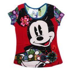 Desigual Disney Minnie Mouse tee shirt - TrendyBrandyKids - European trendy clothes for boys and girls. Catimini, Desigual, Deux par Deux, Diesel, Halabaloo, Ikks, Jean Bourget, Marese, Me Too, Mim Pi, Pom Pom Casual.