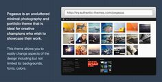 Pegasus Photography & Portfolio WordPress Theme - ThemeForest Item for Sale
