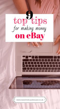 eBay is the most popular side hustle because it's an easy place to make money. Click here for nine top tips for making money on eBay and earn yourself some extra cash this month! Making Money On Ebay, Make Money Online, Extra Cash, Extra Money, Make Easy Money, Money From Home, Money Tips, Make It Simple, About Me Blog