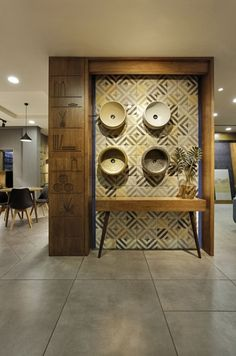 The ceramic shoppe 5 wall in 2019 showroom interior design, Foyer Design, Ceiling Design, Wall Design, Entrance Design, Showroom Interior Design, Tile Showroom, Showroom Ideas, Interior Shop, Interior Walls