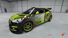 Hyundai Veloster # 37 of Sarkom31 in the window of Forza Motorsport 4