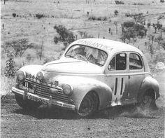 Peugeot 203 op zijn sportiefst.
