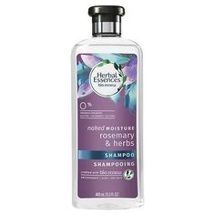Bio:Renew Rosemary & Herbs Naked Moisture Shampoo is crafted with bio:renew, a signature blend of essential antioxidants, aloe and sea kelp. Mint Shampoo, Hair Shampoo, Ph Balanced Shampoo, Rosemary Herb, Herbal Essences, Moisturizing Shampoo, Hair Health, Beauty Care, Beauty Tips