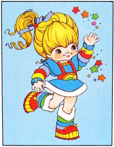 Childhood Characters, Childhood Memories, Cartoon Costumes, Rainbow Aesthetic, Dibujos Cute, Old Anime, Rainbow Brite, Love Wallpaper, Retro