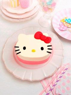 Sanrio: Hello Kitty:)--just remember, SHE'S NOT A CAT!  In awe that Sanrio wants us to believe that.  Crazy!