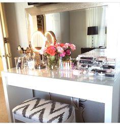 Vanity Stool On Pinterest Bedroom Vanities Vanity Bench