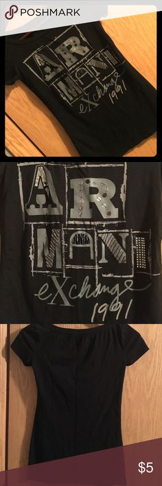 30% off Bundles! A X Graphic Tee Size XS Armani Exchange Tops Tees - Short Sleeve