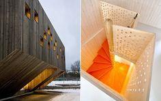 노르웨이 유치원 디자인 화제 (사진)