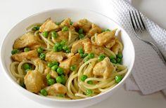 Pâte à la dinde Weight watchers, une recette simple et facile à réaliser pour un déjeuner ou un repas de soir pour 2 personnes.