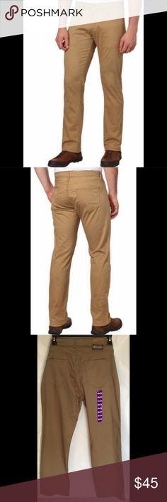 NWT Men/'s Weatherproof Vintage Comfort Stretch 5 Pocket Twill Pants-Variety