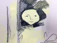 Girl with a doll, fragment of version 3.