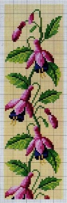Fuchsia Cross Stitch