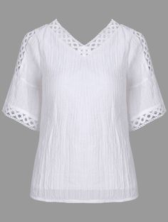 Bell Sleeve Cold Shoulder Lace Insert Blouse Great reputation fashion retailer with large selection of womens & mens fashion clothes, swimwear, shoes, jewelry, accessories selling at a cheap price. Fashion 2020, Daily Fashion, Fashion Models, Fashion Fashion, Spring Fashion Outfits, Fashion Dresses, Fashion Clothes, Mens Fashion Shoes, Blouse Designs