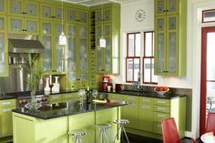 Decoración de cocinas de colores