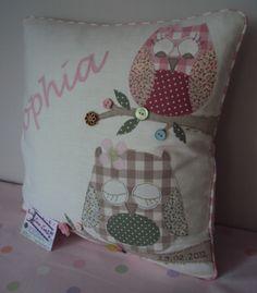 Personalised 'Owl' Cushion | wowthankyou.co.uk  £35