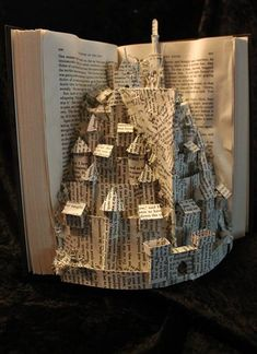 Jodi Harvey-Brown's work proves that any book can be made into a gorgeous piece of visual art!